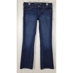 American eagle slim boot stretch jeans size 8